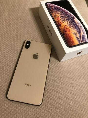 IPhone Xs Max 64Gb Gold - Completo