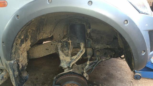 Reforço do suporte da mola da Mitsubishi Triton - Foto 6