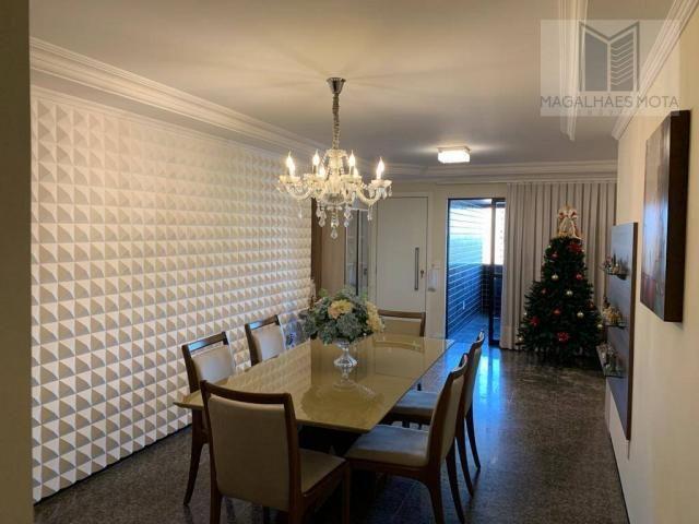 Apartamento com 3 dormitórios à venda, 127 m² por R$ 570.000 - Aldeota - Fortaleza/CE - Foto 7