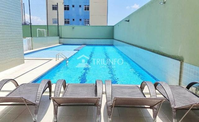 (MRA) Apartamento a Venda 86m², 3 Quartos no Bairro de Fátima, 2 Vagas, Piscina - Foto 2