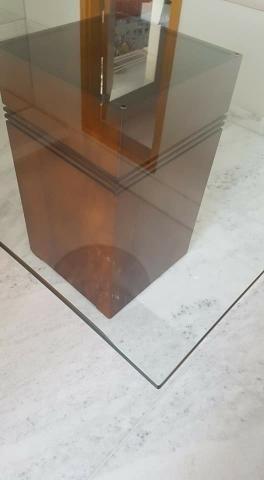 Tampo de vidro quadrado - Foto 2