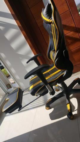 Cadeira de Escritório - Presidente Reclinável (Gamer)