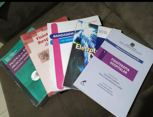 Kit de livros de fisioterapia - Foto 2