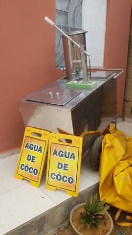 Carrinho De Coco, Aço inox
