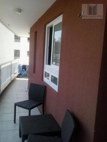 Apartamento com 3 dormitórios à venda, 80 m² por R$ 450.000 - Cocó - Fortaleza/CE - Foto 8