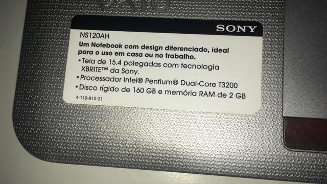 Notebook sony NS120AH - Foto 3