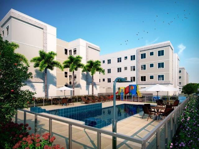 Apartamento 2Q região Noroeste 100% financiado entrada facilitada - Foto 6
