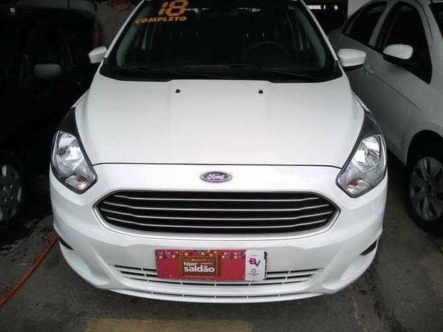 Ford Ka Hatch Completo + Gnv Ent: R$ 8.000,00 + 48x 769,00 - Foto 5