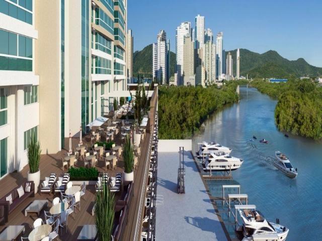 O Marina Beach Towers é o único da América do Sul com uma marina exclusiva, totalmente equ - Foto 4