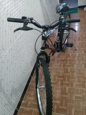Bike Cairu Flash aro 26 c/marchas - Foto 5