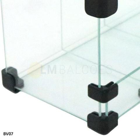 Baleiro de Vidro 0,60 x 0,45 x 0,15 Frete e montagem Gratis - Foto 5
