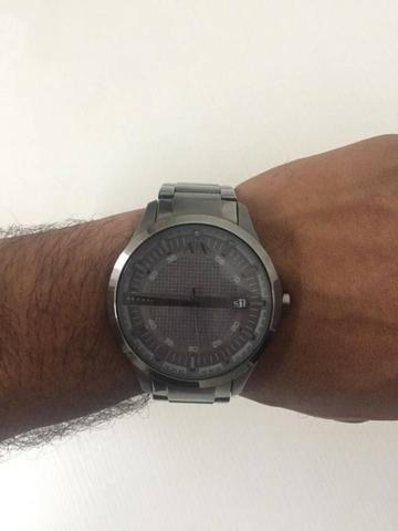 c38553f63c40a Relógio Armani Exchange Prata (masculino) - Bijouterias, relógios e ...