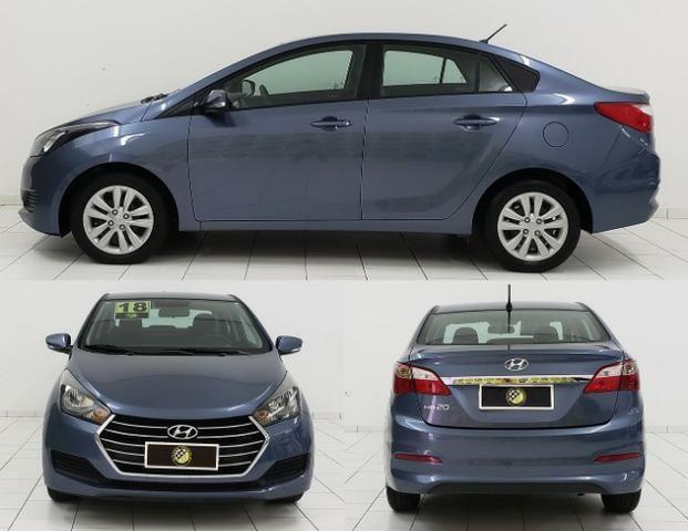 Hyundai Hb20s 1.0 - Estado de Okm - Completo Impecável