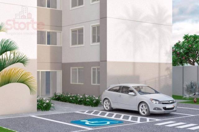 Apartamento com 2 dormitórios à venda, 43 m² a partir de R$ 125.000 - Shopping Park - Uber - Foto 5
