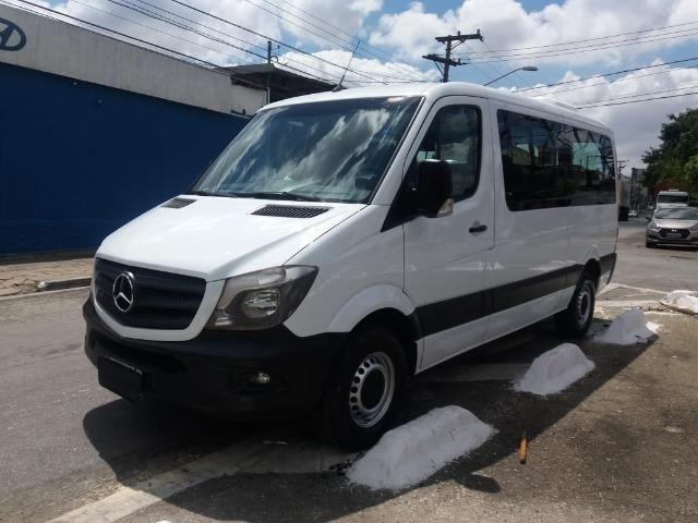 Mercedes-benz Sprinter Van 2.2 Cdi 415 Branca 2019 Nova - Foto 2