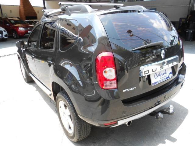 Renault DUSTER Dynamique 2.0  Hi-Flex 16V Aut. - Preto - 2013 - Foto 13