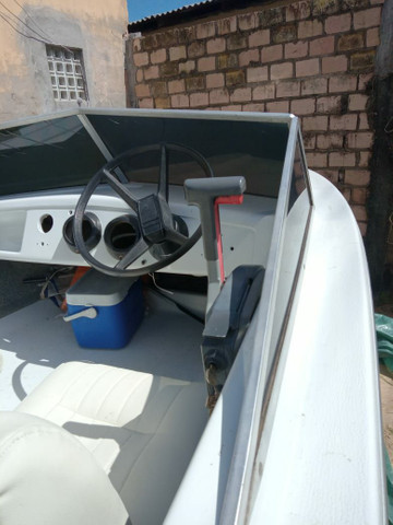 Barco com motor 60 - Foto 3