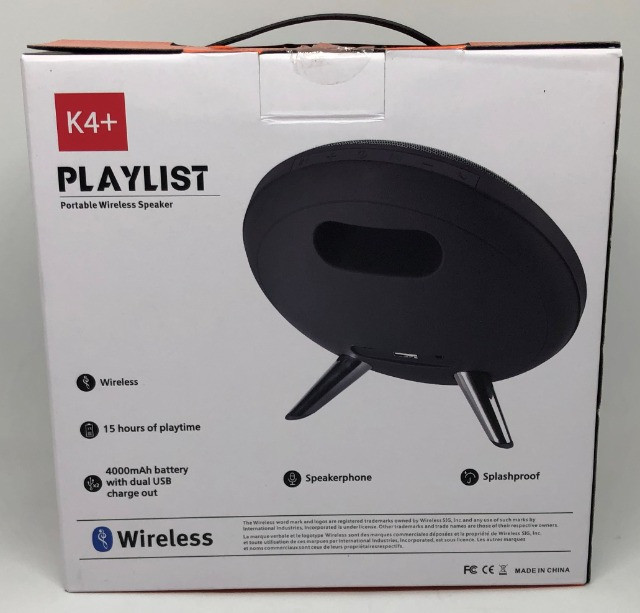 Caixa De Som Jbl K4+ Playlist 30w Bluetooth Entradas Usb Sd e Auxiliar Nova na Caixa. - Foto 6