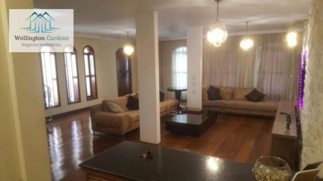Sobrado com 4 dormitórios para alugar, 339 m² por R$ 5.000/mês MAIS IPTU DE R$350,00 - Jar - Foto 9