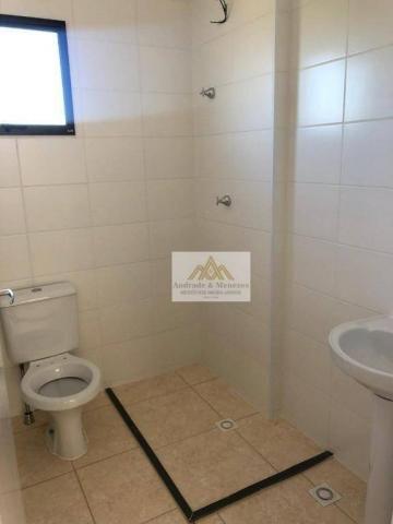 Apartamento com 2 dormitórios para alugar, 42 m² por R$ 700,00/mês - Bonfim Paulista - Rib - Foto 6