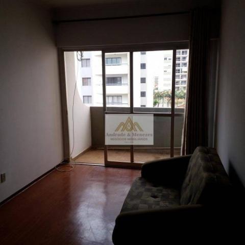 Apartamento com 1 dormitório para alugar, 69 m² por R$ 750,00/mês - Centro - Ribeirão Pret - Foto 3
