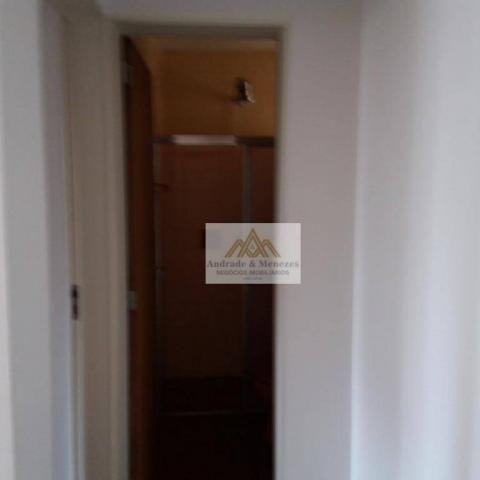 Apartamento com 1 dormitório para alugar, 69 m² por R$ 750,00/mês - Centro - Ribeirão Pret - Foto 12
