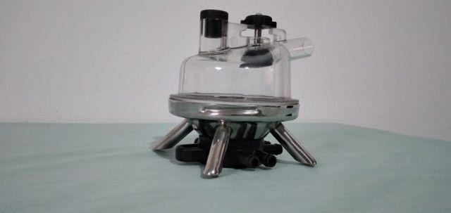 Coletor de leite inox 450cc para ordenhadeira
