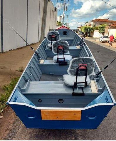Barcos de Alumínio a pronta entrega - Aracatuba SP - Foto 3