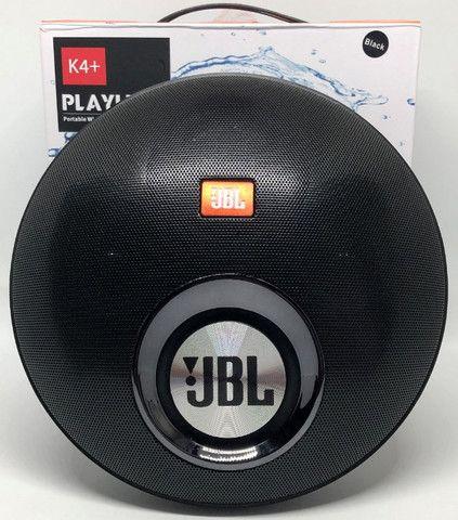 Caixa De Som Jbl K4+ Playlist 30w Bluetooth Entradas Usb Sd e Auxiliar Nova na Caixa.