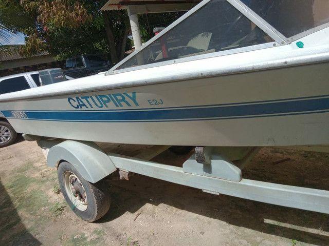 Barco com motor 60 - Foto 2