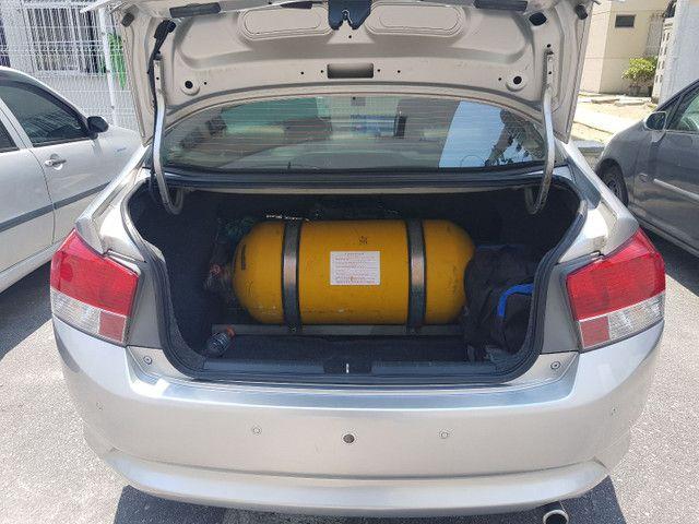 Honda City DX 2012 auto. Gnv 5 geração  - Foto 5