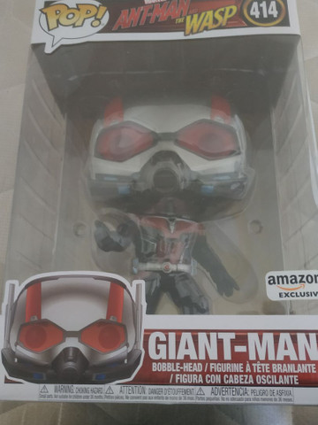 "Funko Pop Marvel Ant-man Giant-man 10"" Amazon Exclusive 414"