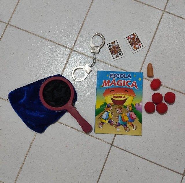 Kit de mágica - Ensino a fazer