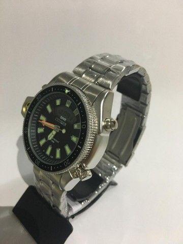 Relógio Modelo Aqualand Prata - Foto 3