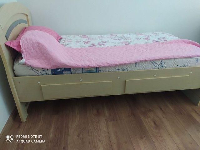 Cama solteiro e colchão Ortobom pró saúde - Foto 2
