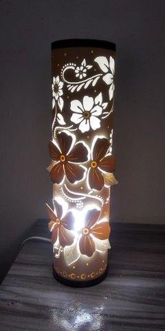 Luminárias em pvc promoção