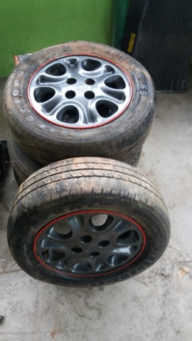 Peças Mazda Mx3 - Jogo Rodas Mx3 - Foto 2