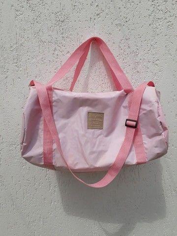 Bolsa mochila Chillibeans rosa bebê