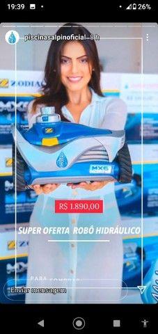 L - Robô Hidráulico Automático de Limpeza para Piscina - Foto 2