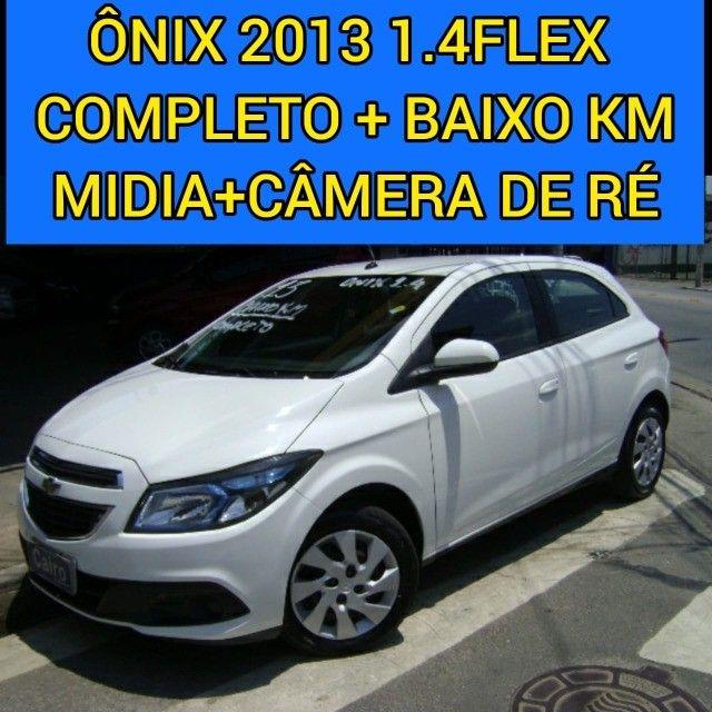 chevrolet gm Onix 2013 1.4 flex completo ar condicionado laudo aprovado baixa km - Foto 2