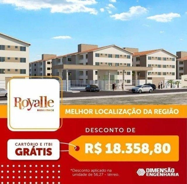 [.136.]. - Condomínio Royale!! Bem pertinho da avenida do Turu!! Use seu F.G.T.S!! - Foto 2