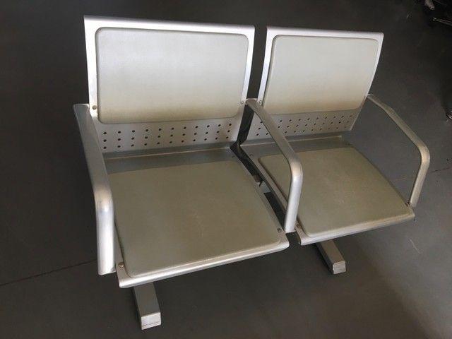 Longarina 2 lugares reforçada até 200Kg por assento