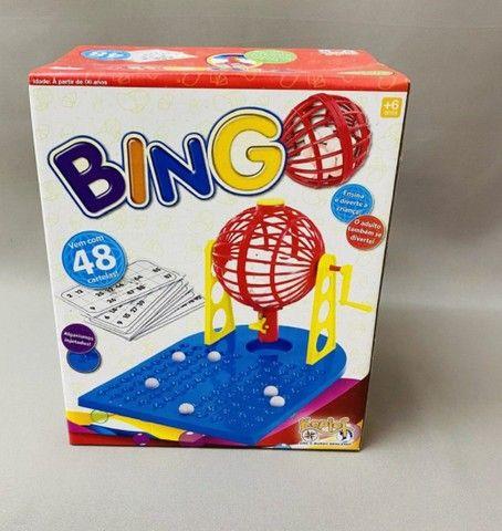 Jogo Bingo com Roleta e 48 Cartelas (Kepler) - Foto 3