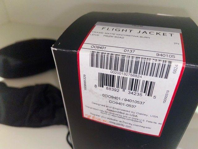 Oculos Oakley Fight Jacket (ciclismo) - Foto 6