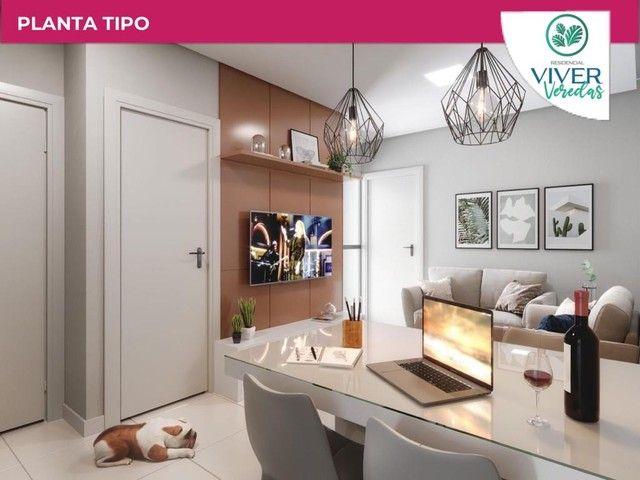Lindo Condomínio de Apartamentos Viver Veredas - Foto 2