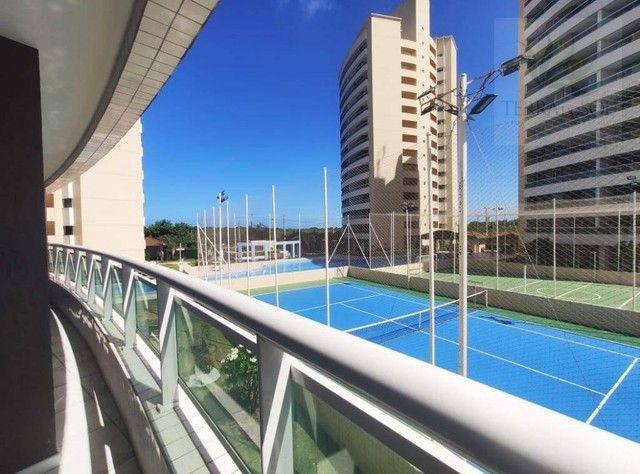 Apartamento com 3 dormitórios à venda, 81 m² por R$ 455.000 - Edson Queiroz - Fortaleza/CE - Foto 6