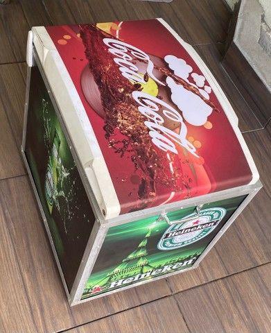 Cooler caixa térmica frigobar