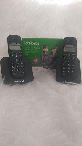 Telefone sem fio digital mais ramal adicional, NUNCA USADO