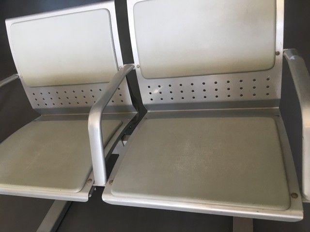 Longarina 2 lugares reforçada até 200Kg por assento  - Foto 5