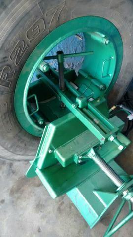 Máquina vulcanizar pneu